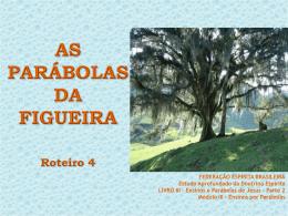 Parábola da figueira que secou - Federação Espírita Brasileira