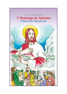 1º Domingo do Advento 2015