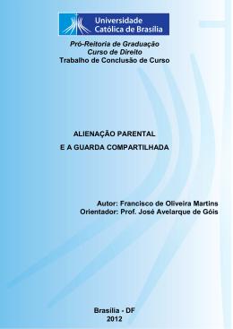 Francisco de Oliveira Martins - Universidade Católica de Brasília