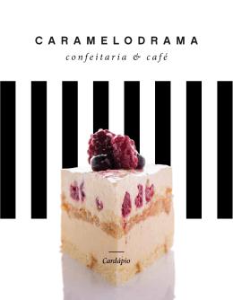 Cardápio - Caramelodrama