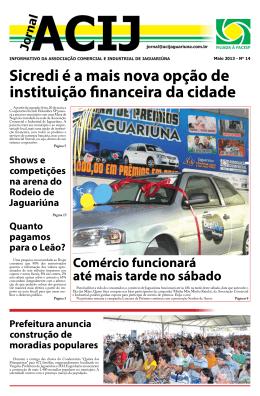 Maio 2013 - Associação Comercial e Industrial de Jaguariúna