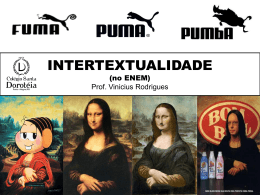 INTERTEXTUALIDADE