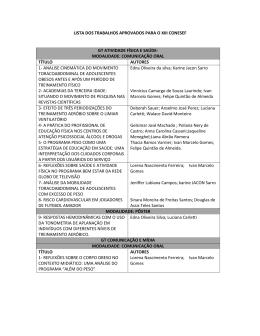 modalidade: comunicação oral título autores