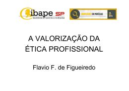 Apresentação Engº Flávio Fernando Figueiredo