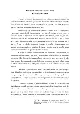 Pensamento - Claudio Garcia