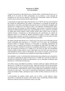 Decreto-Lei n.º 343/91 - Caixa Geral de Aposentações