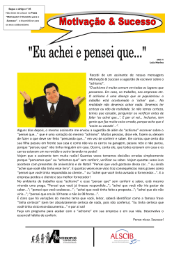 Motivação & Sucesso Por Luiz Marins