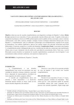 RELATO DE CASO - Portal de Pesquisa da BVS