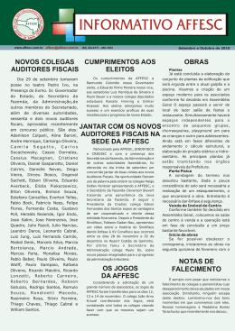 Informativo Setembro/Outubro 2010Clique para baixar