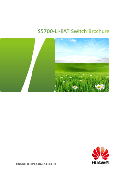 S5700-LI-BAT Switch Brochure