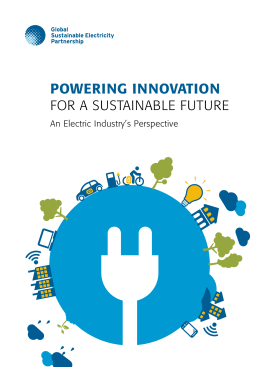 POWERING INNOVATION - Global Sustainable Electricity Partnership