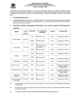 Secretaria Municipal de Administração de Volta Redonda