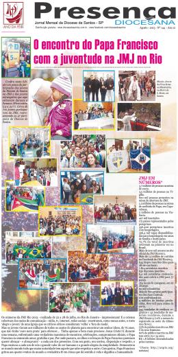 Jornal Presença Diocesana 144 Agosto 2013