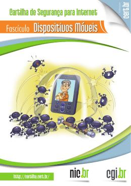 Dispositivos móveis - Cartilha de Segurança para Internet