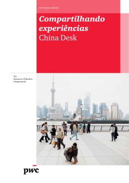 Compartilhando experiências China Desk