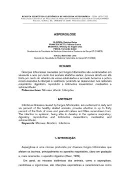 Aspergilose Rodrigo Boisa OLIVEIRA, Fabiana Guerra