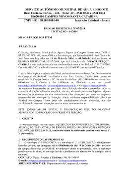 Caetano Carlos, – 466 Fone 49 – 3541 0844 e 3541 0834