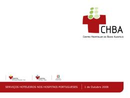Serviços Hoteleiros nos Hospitais Portugueses