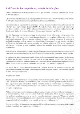 Informações sobre o KPC - Tecelagem Panamericana