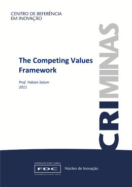 The Competing Values Framework