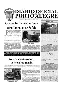 diário oficial porto alegre