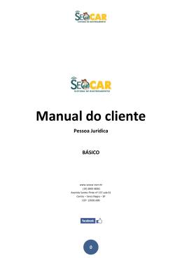 2. Manual Pessoa Jurídica