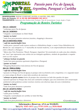 ROTEIRO FOZ.cdr