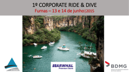 1º CORPORATE RIDE & DIVE