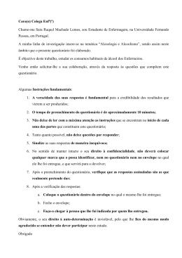 Questionario _Portugues_ - Repositório Institucional da