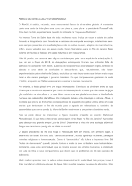 ARTIGO DE MARIA LUCIA VICTOR BARBOSA