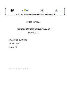 técnicas de secretariado- módulo 11