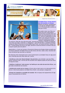 clipping marista social 09.01.2012 - Marista Centro