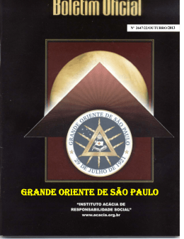 GRANDE ORIENTE DE SÃO PAULO