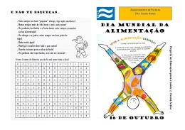 Cartaz do 1   e 2   Ciclo