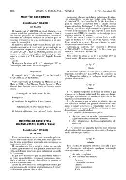 Decreto-Lei nº 167/2004