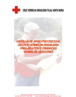 cartilha de apoio psicossocial da cruz vermelha brasileira para