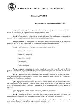 Resolução Nº 277/65