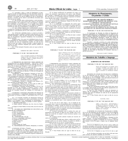 86 1 Ministério do Planejamento, Orçamento e Gestão