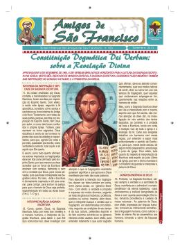 Boletim de setembro - Franciscanos Santa Cruz