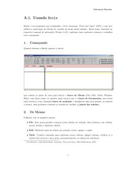 A.1. Usando Boole