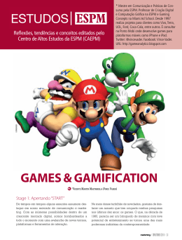 GAMES & GAMIFICATION