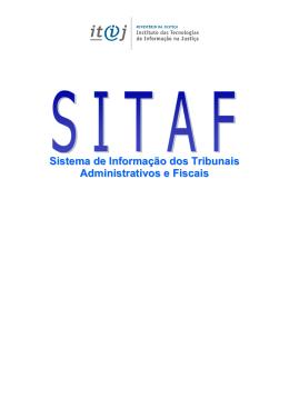 SITAF - guia informativo