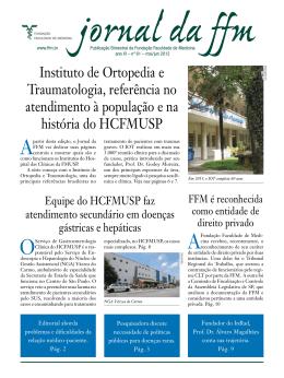 Instituto de Ortopedia e Traumatologia, referência no
