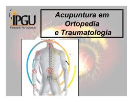 Acupuntura em Ortopedia e Traumatologia