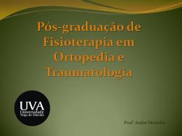 Pós-graduação de Fisioterapia em Ortopedia e Traumatologia