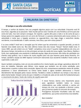 Informativo Outubro 2015 - Santa Casa de Itapeva Sempre