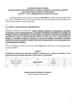 13.05.2015 - Defensoria Pública da União
