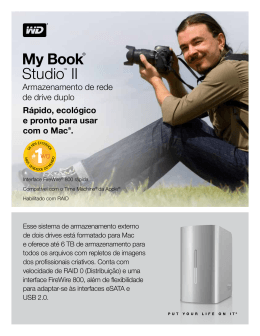 My Book® Studio™ II Product Overview