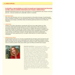 3. CURSO ESPECIAL Os desafios e oportunidades ao redor