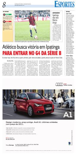 Atlético busca vitória em Ipatinga PARA ENTRAR NO